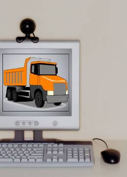 July 2016 monitor with truck
